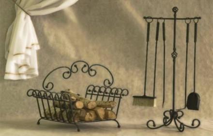 Кованные каминные наборы